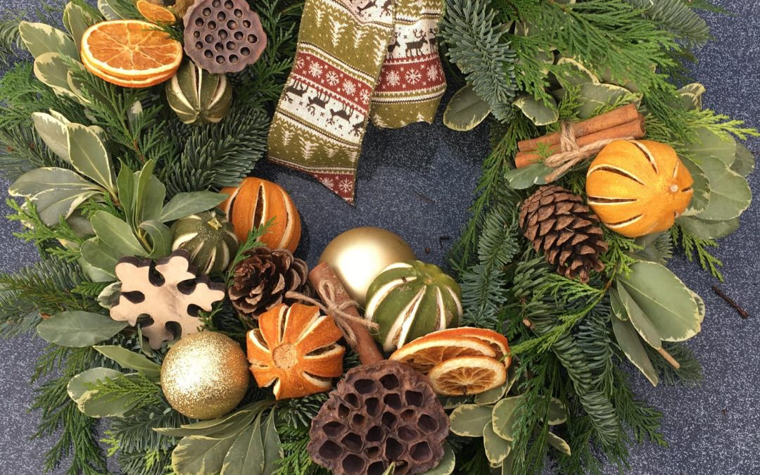 Christmas Wreaths and Door Bows