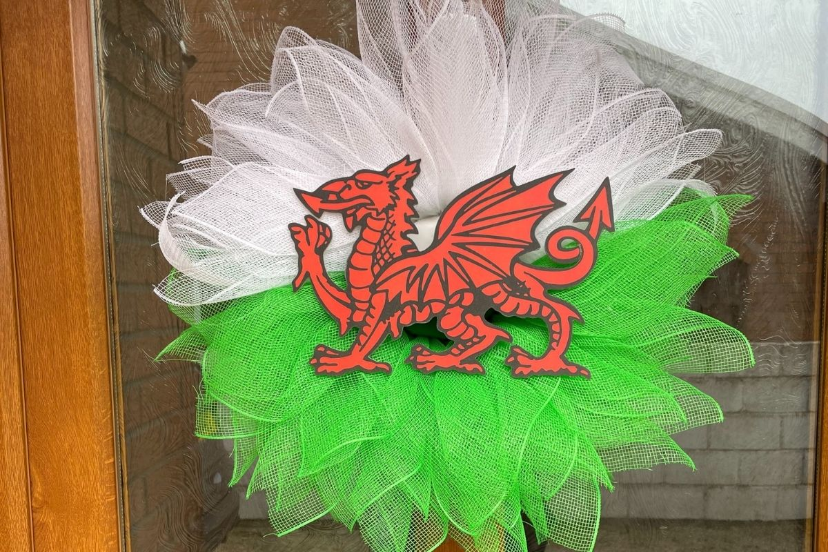 Welsh Wreath by That Finishing Touch